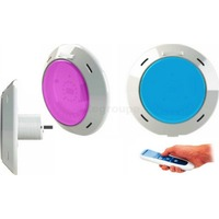 Projecteur Piscine LED Plat RGB 27w & Télécommande