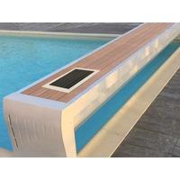 Volet Roulant Hors-sol Banc Design Fixe Solaire